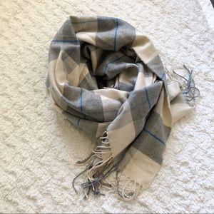 Gap Plaid Blanket Scarf
